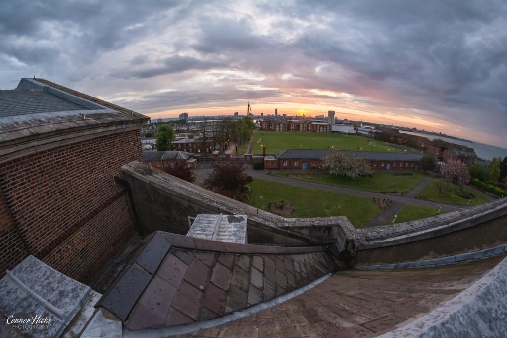 Royal Hospital Haslar Urbex Sunrise 1024x683 The Royal Hospital Haslar, Gosport
