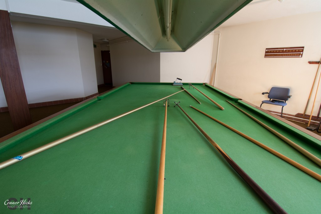 Urbex Haslar Snooker Hall 1024x683 The Royal Hospital Haslar, Gosport