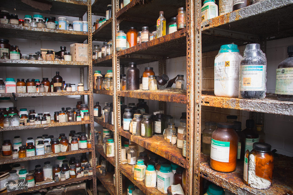 Carmel College Oxfordshire Urbex Chemical Room 1024x683 Carmel College, Oxfordshire