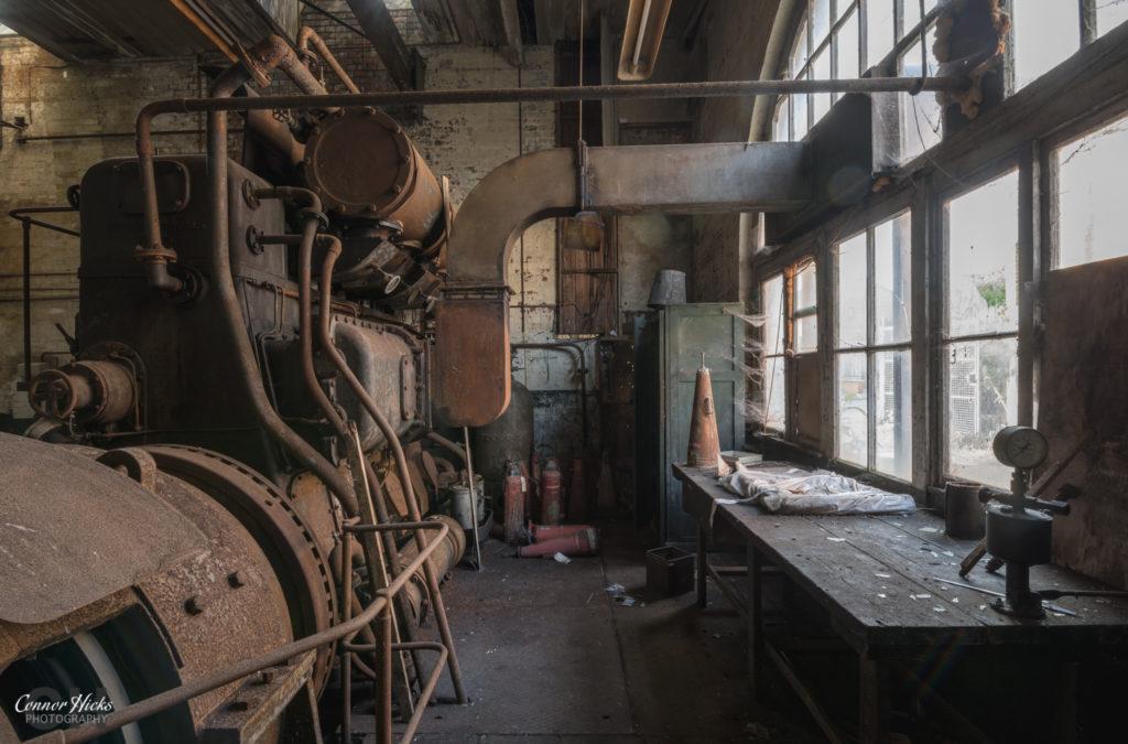 Boiler Room Tonedale Mills Urbex Wellington 1024x675 Tonedale Mills, Somerset