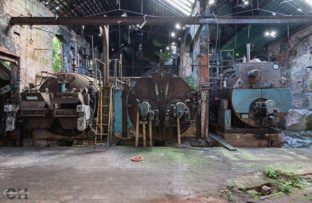Boilers Tonedale Mills Urbex Somerset 1024x665 Tonedale Mills, Somerset