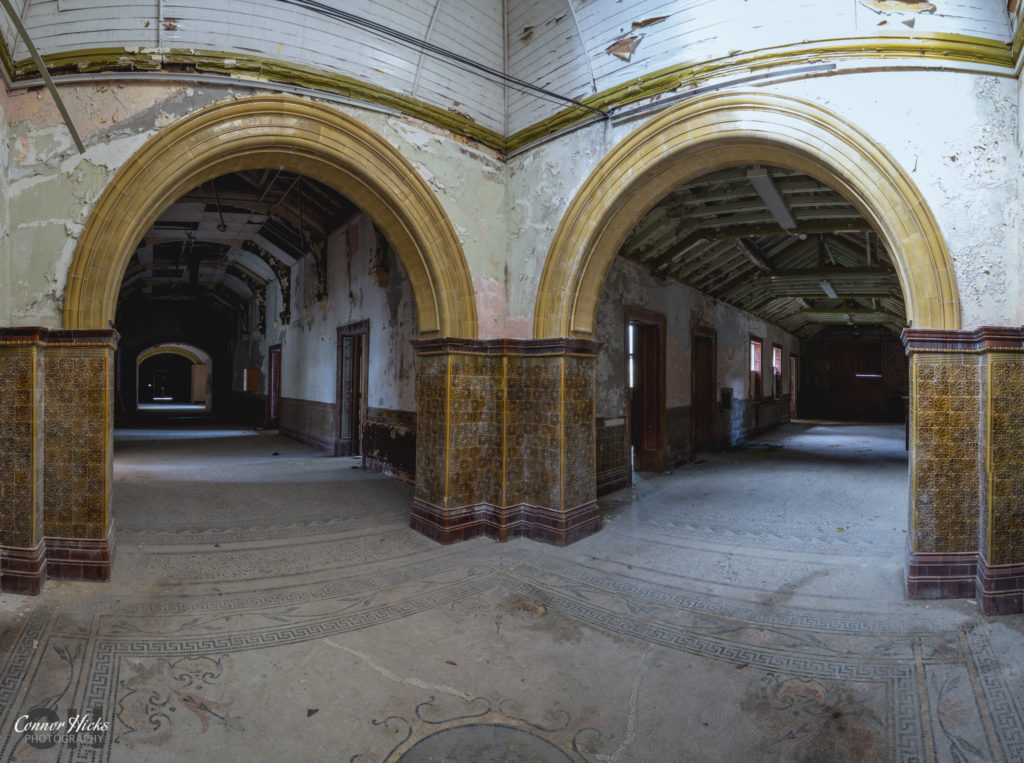 High Royds Asylum Golden Arches 1024x763 High Royds Asylum, Leeds