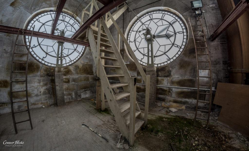 High Royds Asylum Inside Clock Tower 1024x619 High Royds Asylum, Leeds