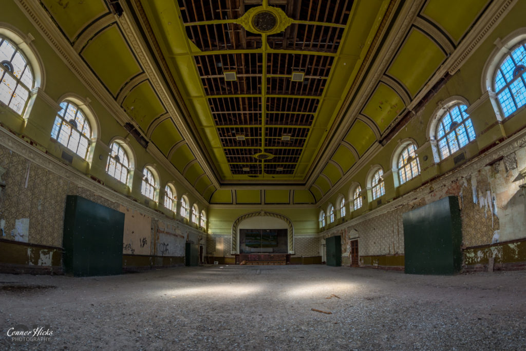 High Royds Asylum Main Hall 1024x683 High Royds Asylum, Leeds