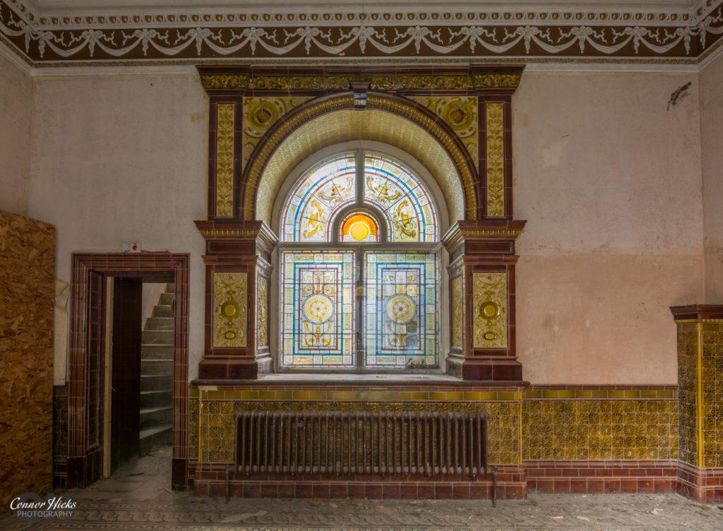 High Royds Asylum Stained Glass 1024x752 High Royds Asylum, Leeds