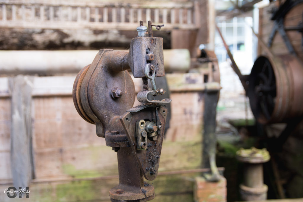 Sewing Machine Fox Bros Urbex 1024x683 Fox Bros Dye Works, Somerset