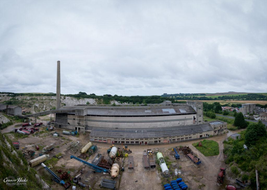 Shoreham Cement Works External View 1024x727 Shoreham Cement Works, West Sussex