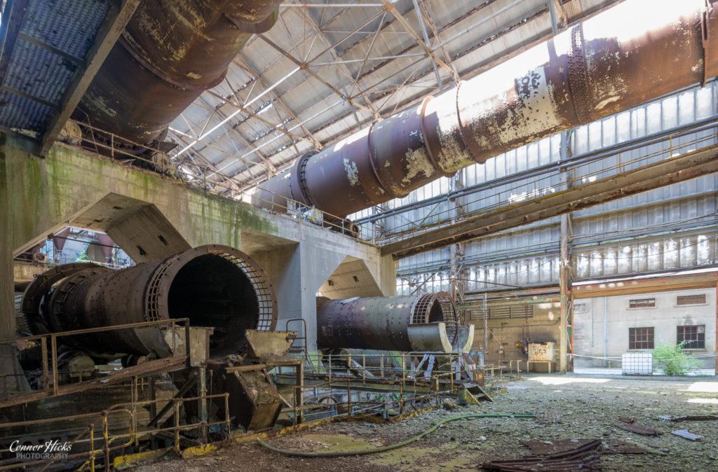 Shoreham Cement Works Urbex Rollers 2 1024x674 Shoreham Cement Works, West Sussex