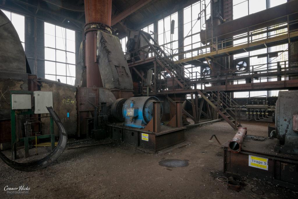 blue power plant urbex belgium 1024x686 Blue Power Plant, Belgium