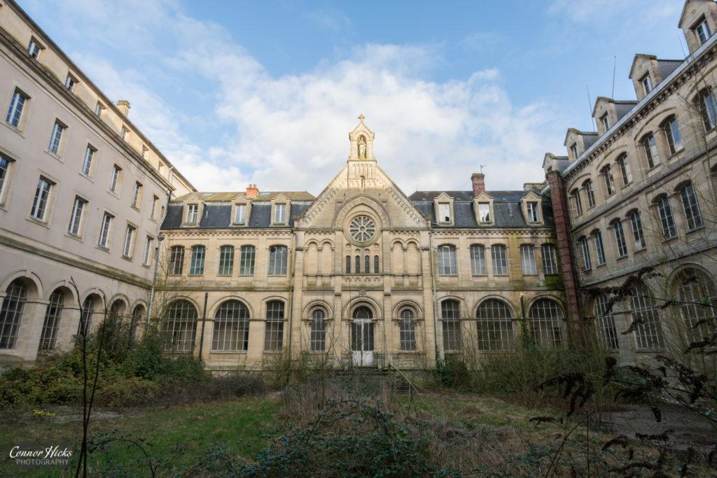 Hospital Plaza Urbex France External 1024x683 Hospital Plaza, France