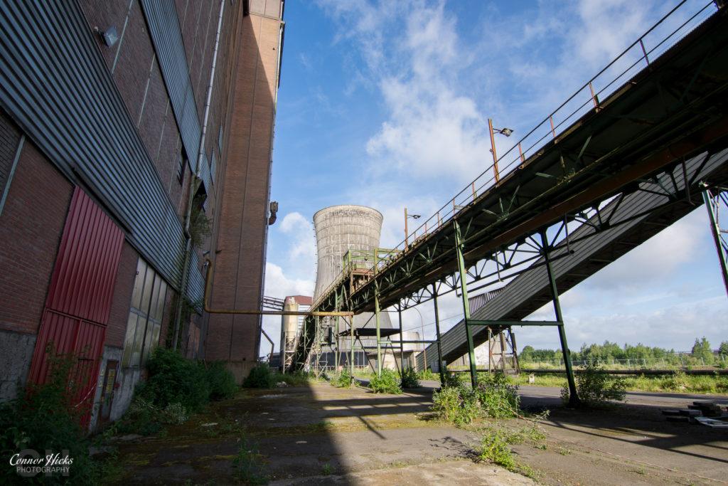cooling tower urbex schneider 1024x683 Centrale De Schneider, France