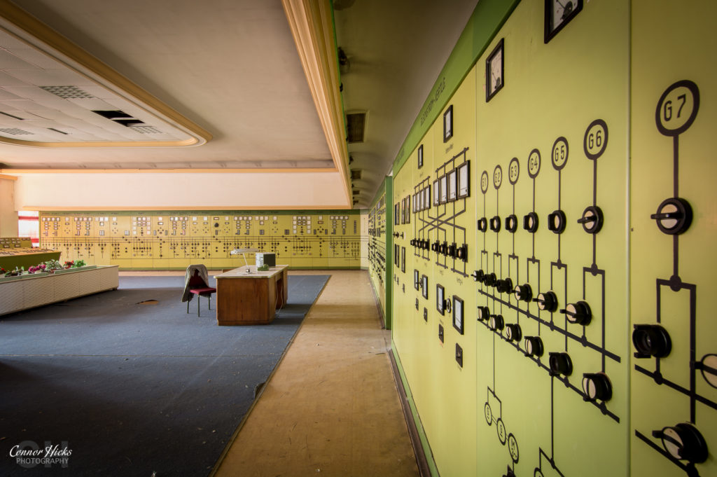 kraftwerk v control room urbex germany 2 1024x681 Kraftwerk V, Germany