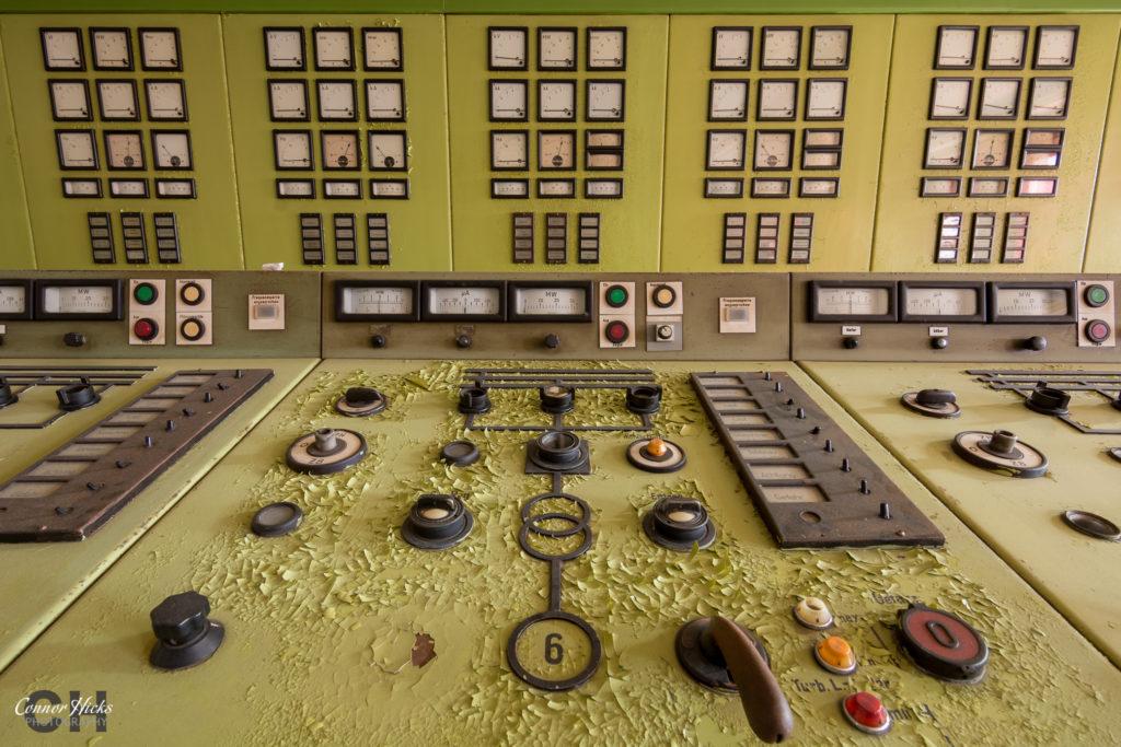 kraftwerk v urbex control panel 1024x683 Kraftwerk V, Germany