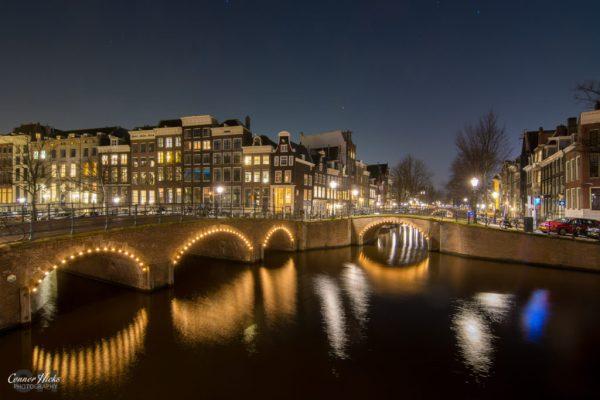 Amsterdam night photography 1024x683 Travel