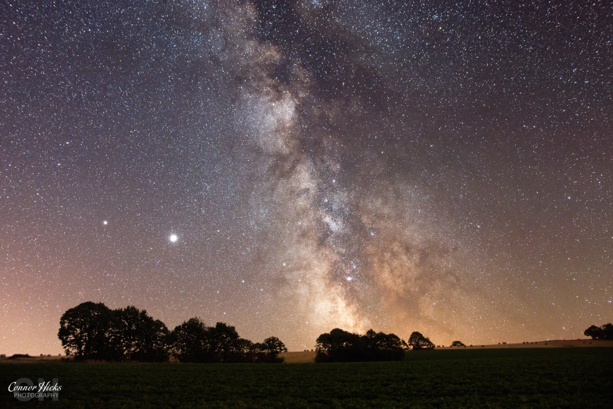 Milky Way Brittany France Astrophotography
