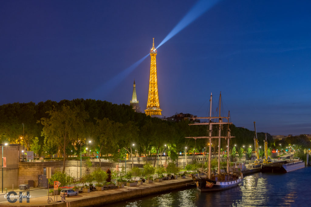 Paris Eiffel Tower Nightscape 1024x683 Travel