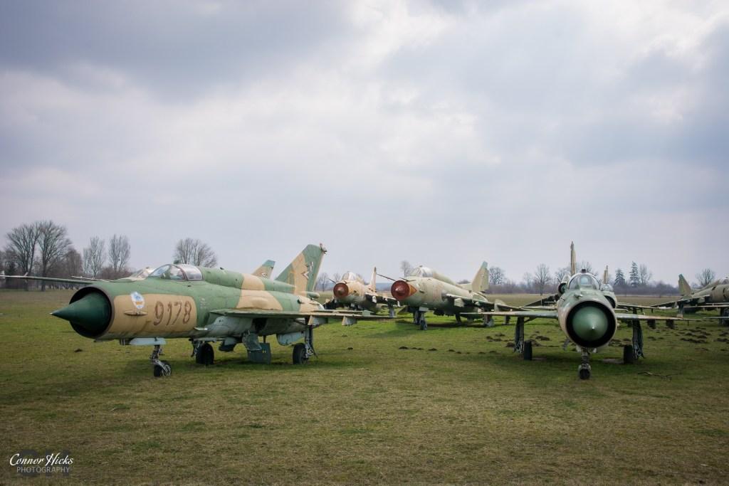 hungary migs urbex 1024x683 Plane Graveyard, Hungary