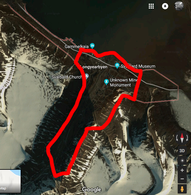 longyearbyen safe zone Arctic Expedition 78° North