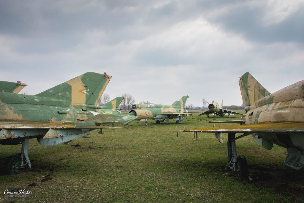 lost migs urbex 1024x683 Plane Graveyard, Hungary