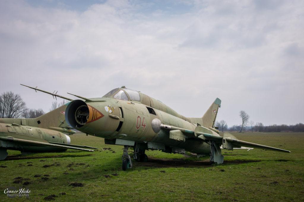 lost su 22 hungary urbex 1024x683 Plane Graveyard, Hungary