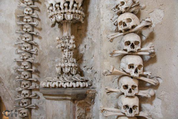 skulls church sedlec ossuary 1024x683 Church Of Bones, Czech Republic
