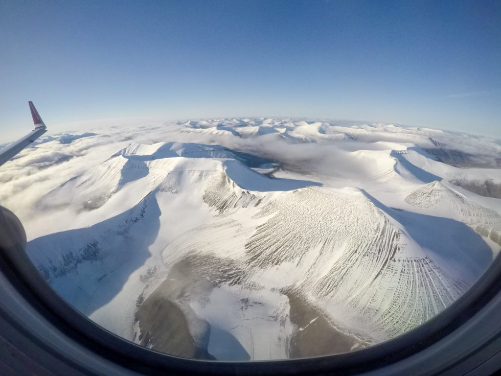 svalbard view from plane 1 1024x768 Arctic Expedition 78° North