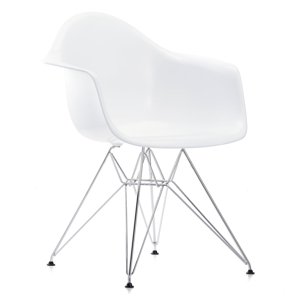 Eames Plastic Armchair DAR by Vitra
