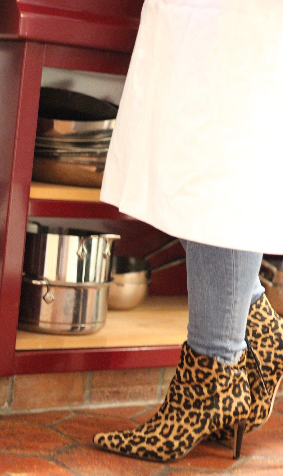 ...und dieses Bild beweist: LEO passt einfach hervorragend in die Küche und ist gleichzeitig der Teaser für unseren morgigen Tag im Styleoutlet Zweibrücken
