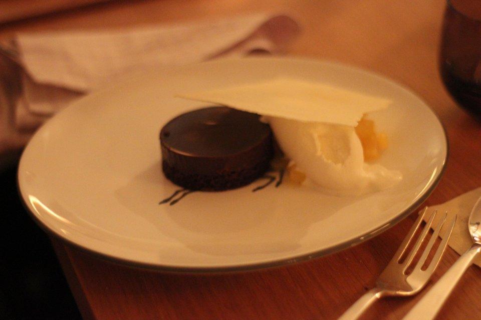 ...und so schaut das Dessert dann aus und ich es hat einfach großartig geschmeckt.