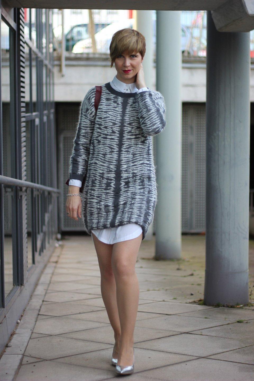 IMG_0619a_AllSaints_Strickkleid_grau_weiss_MetallicHeels_ConnyDoll_AHemadundahos_Fashionblog_