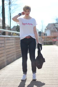 Fashion, Shirt, ü40Blog, Jeans, und T-Shirt, redirected, HappyGirlsaretheprettiest, casual, lässig, sportlich, connydoll