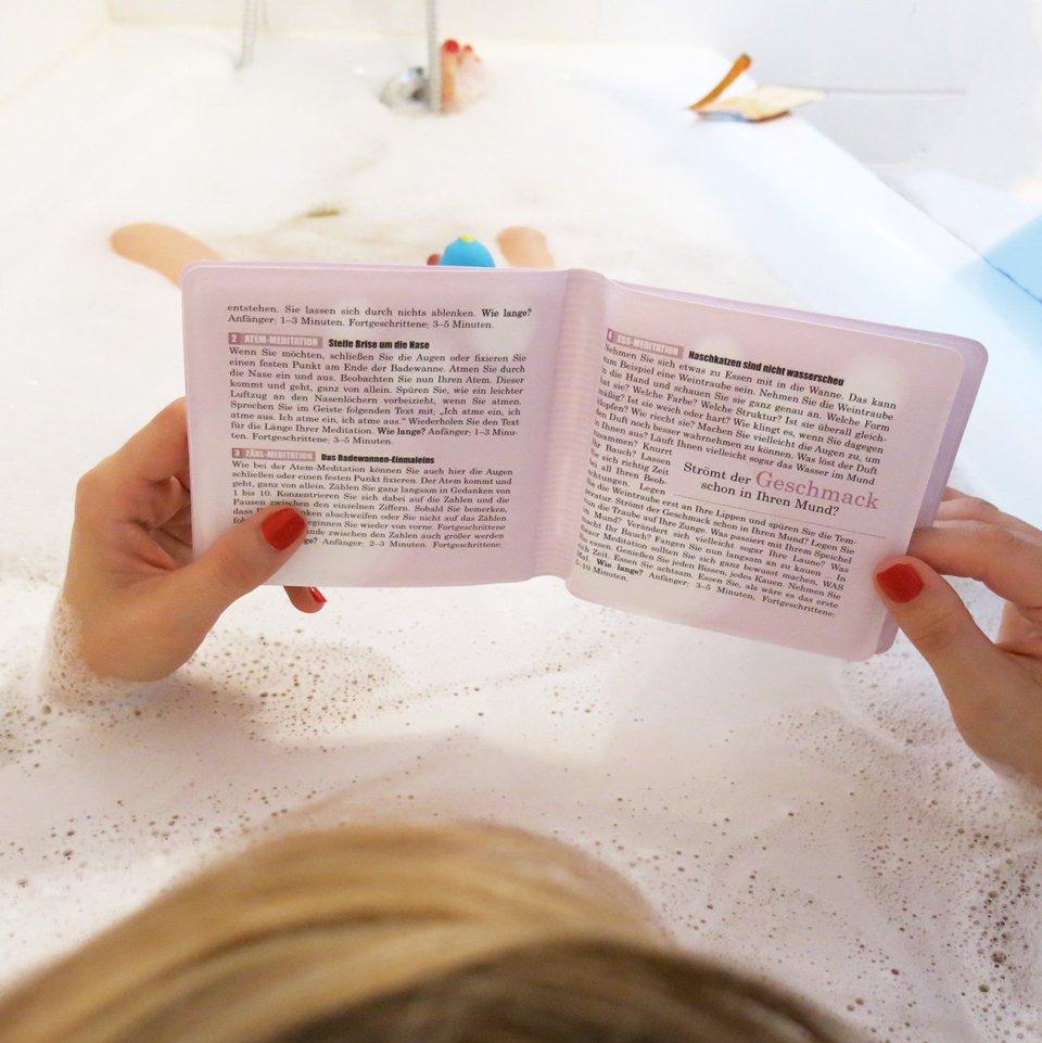 Entspannung, Badewanne, Wannenbuch, Buddhas baden besser, Buch