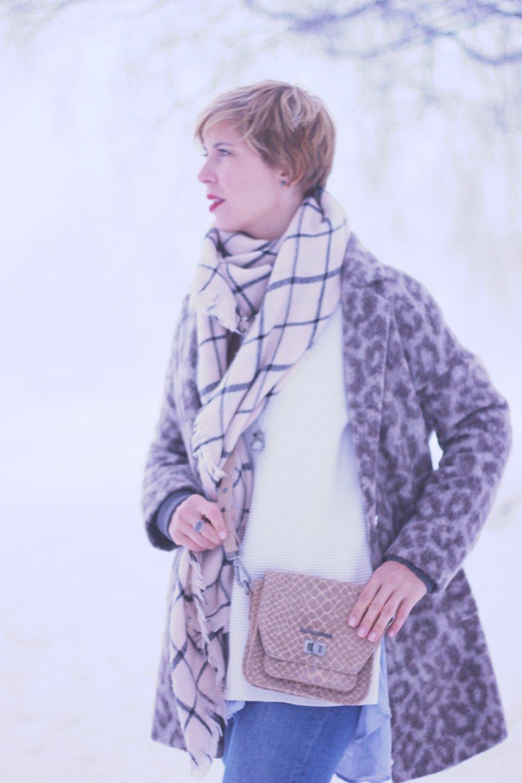 Longpullover und Longbluse, Winterlagenlook, Leomantel, All Saints Jeans, Oui, Mantel, UGGs, Asos