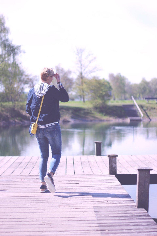 NewYork-Reisetipps, Streifen, Denim, Jeans-Fritz, Schnürer, Casual Friday