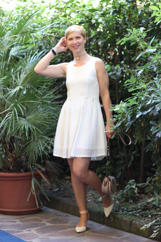 Spitzenkleid von Only, Weiß, White Night, Conny Doll, Italien, Urlaub
