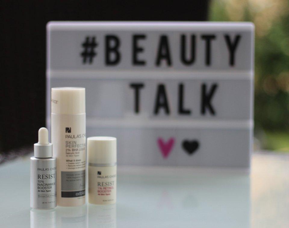 Paulas Choice, Beautytalk, Retinolbooster, BHA, Niacinamide,