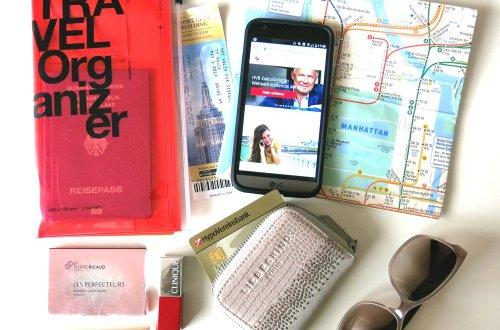 HVB ExklusivKonto, Reiseunterlagen, Conny unterwegs,