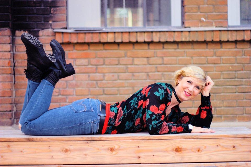 Fashionblog Frauen40plus, Frühlingslook, Sommerlook, Herbstlook, Winterlook
