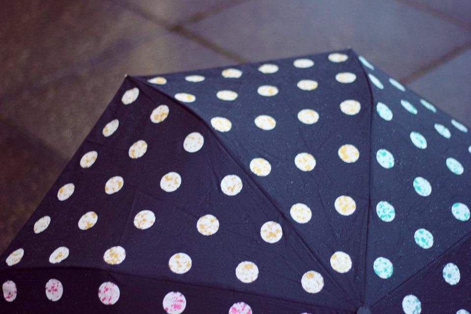 Conny Doll Lifestyle: Regenwetter, Tchibo, Regenschirm