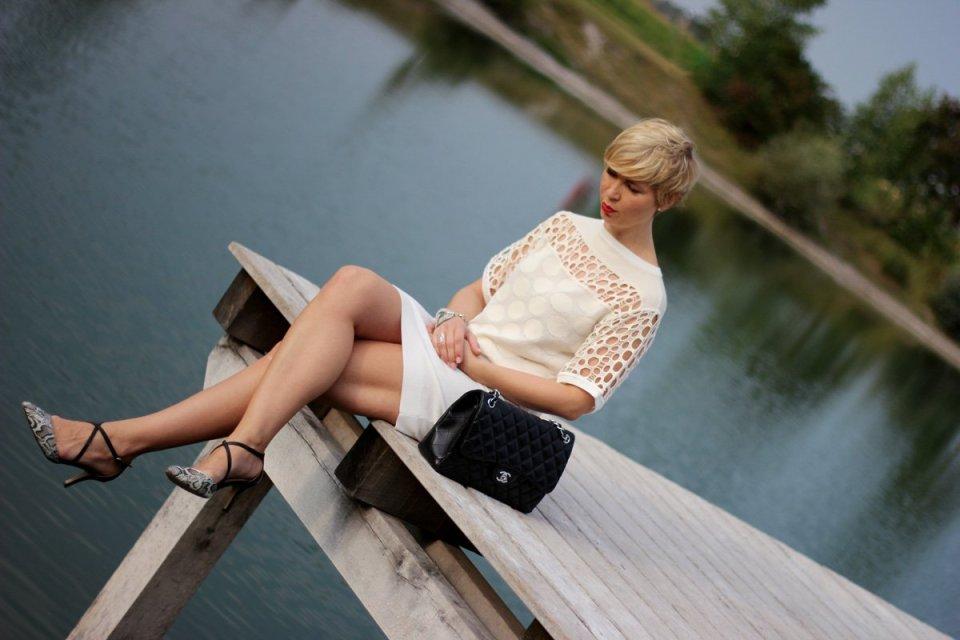 conny-doll-lifestyle: Strickkleid, Sommerkleid, Sommerstrick, Saleschnäppchen