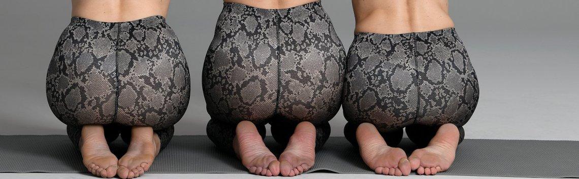 conny doll lifestyle: sporthose im trendigen pythonstyle, anita active tights massage, pythonstyle, sport-bh, fashionblog für frauen