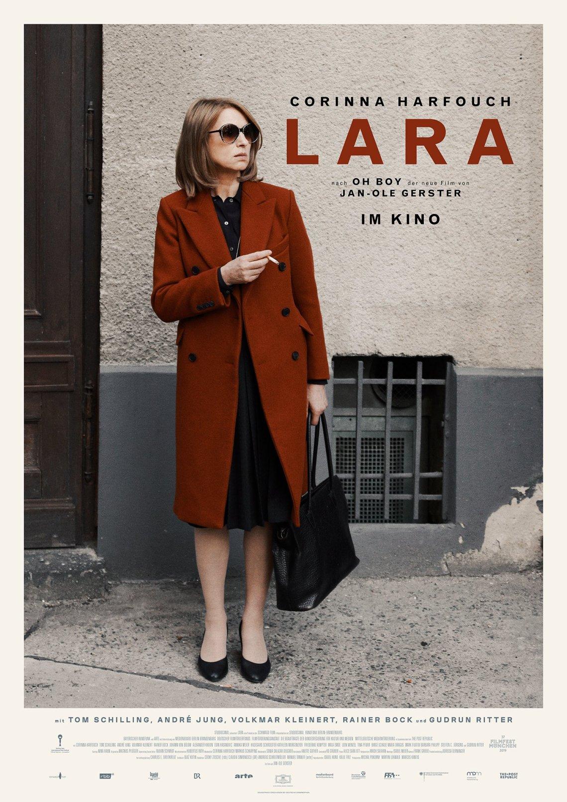 conny doll lifestyle: LARA, der neue Film von Jan-Ole Gerster kommt am 7.11.2019 in die Kinos