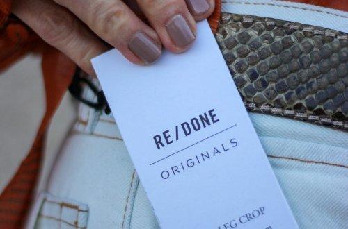 conny doll lifestyle: Nachhaltige Jeanslabel - RE/Done eine stylishe Nadel im Heuhaufen