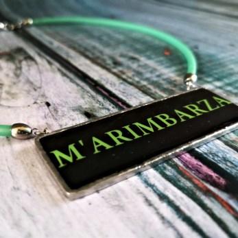 collana m'arimbarza nero e verde square small CK IMG_20190914_144512