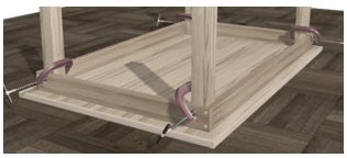 C mo hacer una mesa de madera cursos gratis - Como construir una mesa ...
