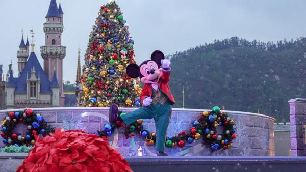 ミッキーと仲間たちのクリスマス・ボール