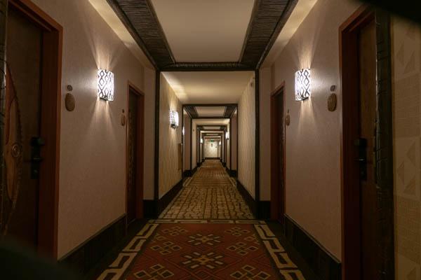アニマルキングダムロッジジャンボハウスの廊下