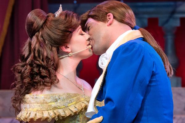 ベルと王子のキス