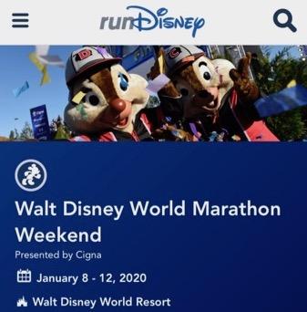 ランディズニー・ウォルト・ディズニー・ワールド・マラソン・ウィークエンド