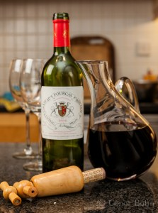 Fine french wine